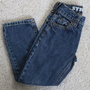 Gymboree boys straight jeans size 4slim
